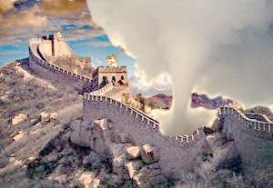 Фотошоп.Великая Китайская стена