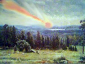 Фотошоп.Тунгуский метеорит