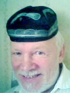 Фото автора в тюбетейке