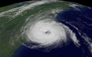 Фото.Вид Смерча из космоса